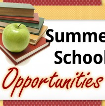 Summer School Opportunities