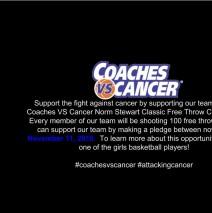 Coaches VS Cancer